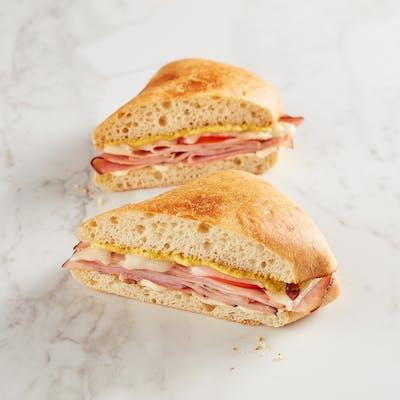 Ham & Cheese Melt Sandwich