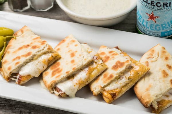 Grilled Three-Cheese Pita