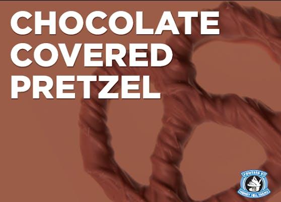 Chocolate-Covered Pretzel Swirl