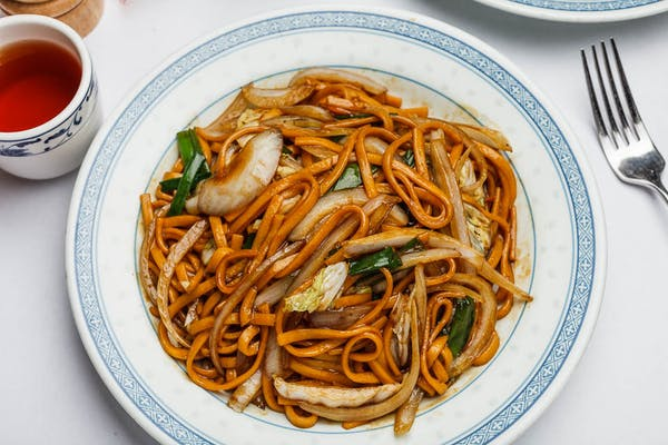 F6. Shrimp or House Lo Mein