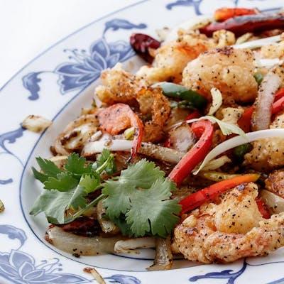 Salt & Pepper Shrimp (Spicy)
