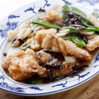 Fish in Rice Wine Sauce