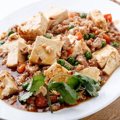 Hot & Spicy Diced Tofu (Spicy)