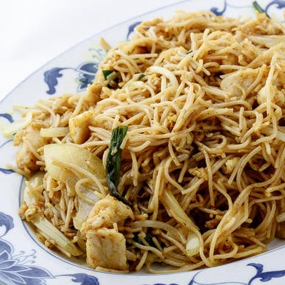 Malaysian Curry Noodles with Tofu