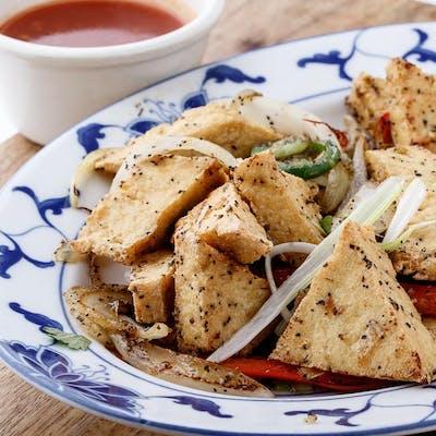 Salt & Pepper Tofu (Spicy)