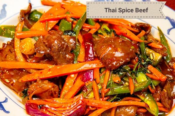 Thai Spice Beef (Spicy)