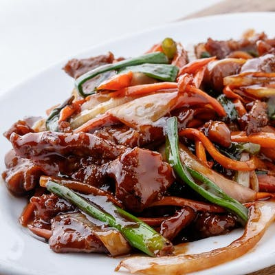 Beef in Hot Chili Sauce (Spicy)