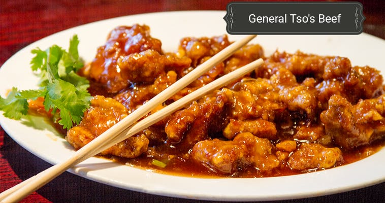 General Tso Beef (Spicy)