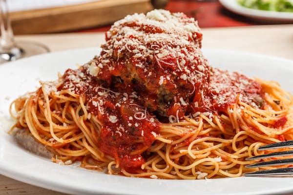 Lunch Spaghetti & Meatball