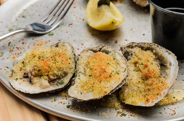 Parmesan Crusted Oysters