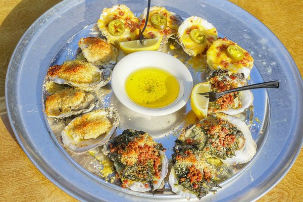 Baked Oyster Combo