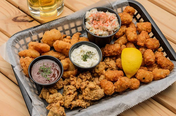 Fried Shrimp & Oysters Basket