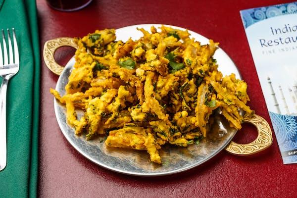 Mixed Vegetable Pakoras