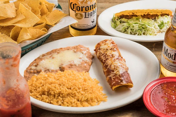 A. Hard Beef Taco & Beef Enchilada