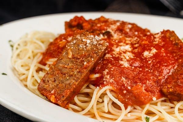 Sausage & Pepper Parmigiana
