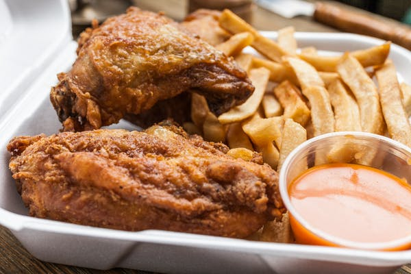 Fried Chicken & Fries