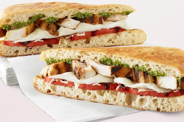 Caprese Chicken Sandwich
