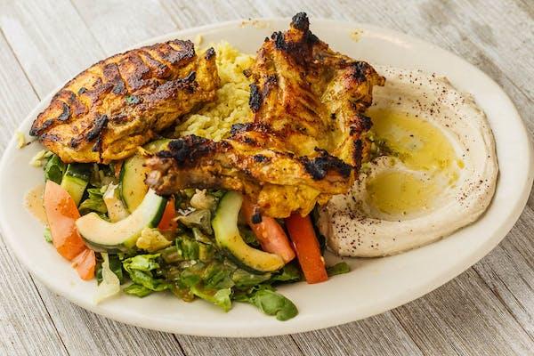 Chicken Tecka Plate