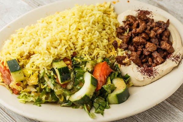 Hummus & Lamb Plate