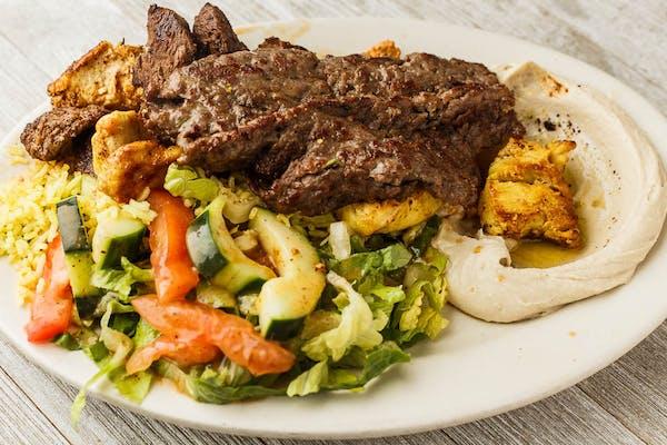 Combo Kabab Plate