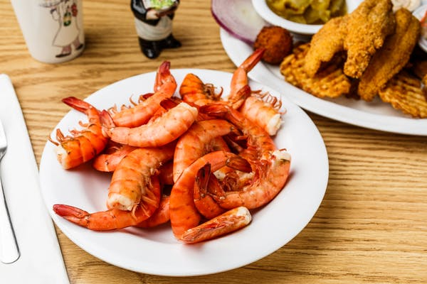 Cajun Boiled Shrimp Platter