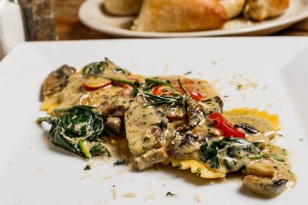 Steak Ravioli Rosemary