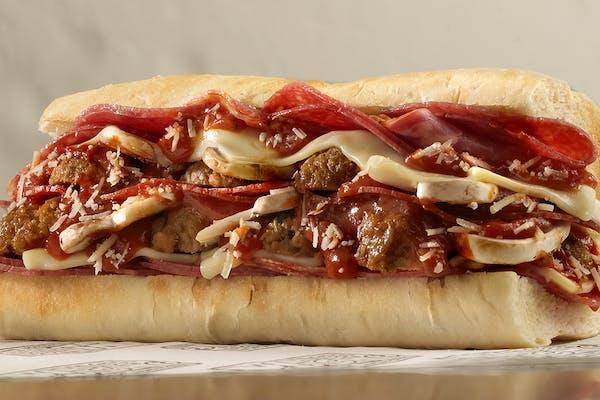 Meatball Grinder Sandwich