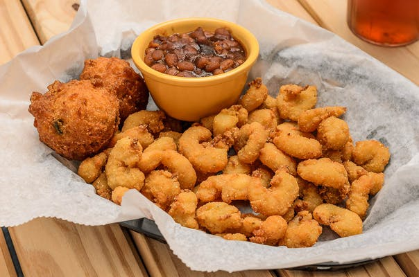 Popcorn Shrimp Basket