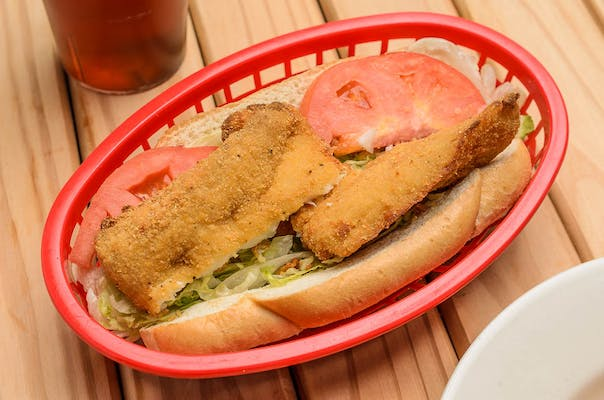Grouper Poboy