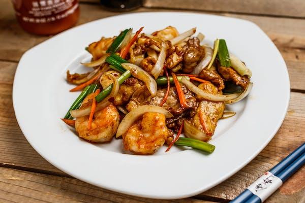 Triple Delight-Mongolian Style