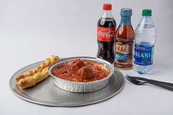 Spaghetti & Meatball Coca-Cola Combo
