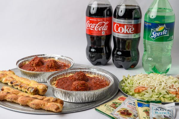Dinner For Two Coca-Cola Combo