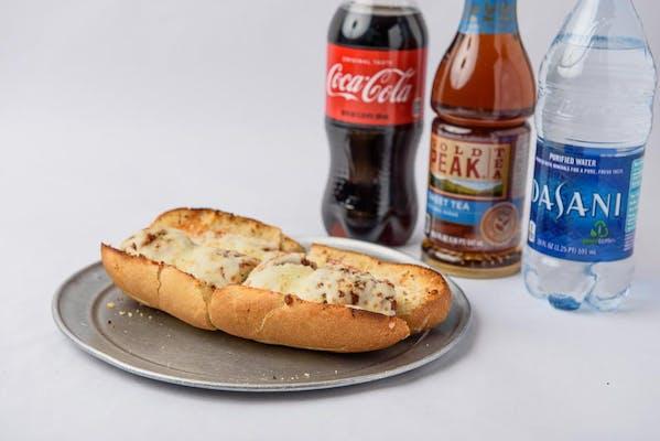 Meatball Parmigiana Sandwich Coca-Cola Combo