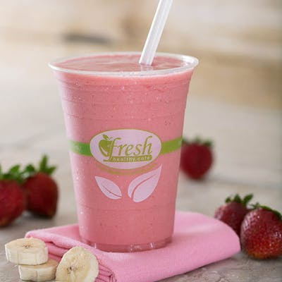 Strawberry Banana Supreme Smoothie