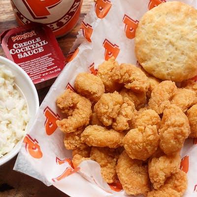 #10 Popcorn Shrimp Dinner