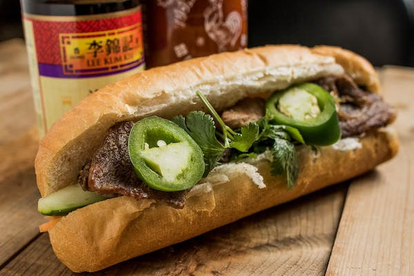 12. Grilled Beef Sandwich