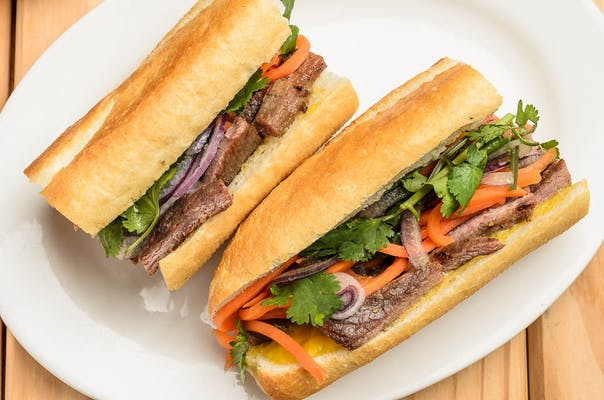 Vietnamese Meatball Sandwich