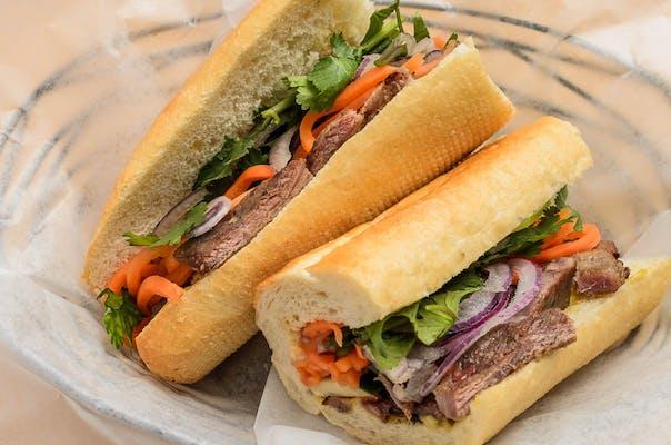 Banh Mi Pho Bo Sandwich