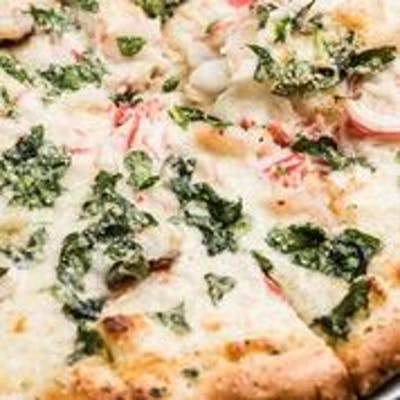 Ollie's Seafood Classic Pizza