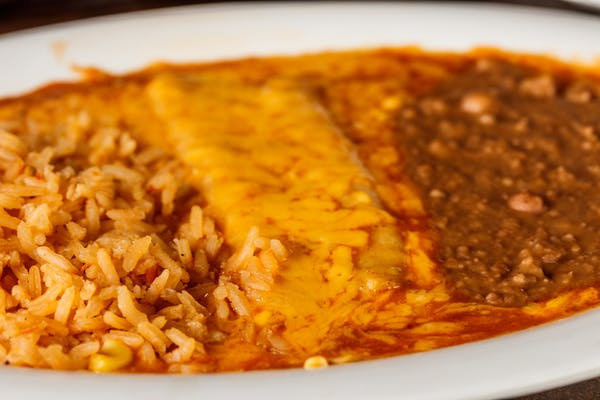 Kid's Enchilada with Rice & Beans