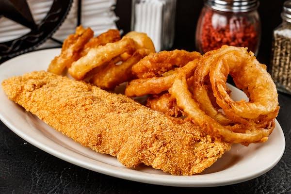 Large Fried Catfish