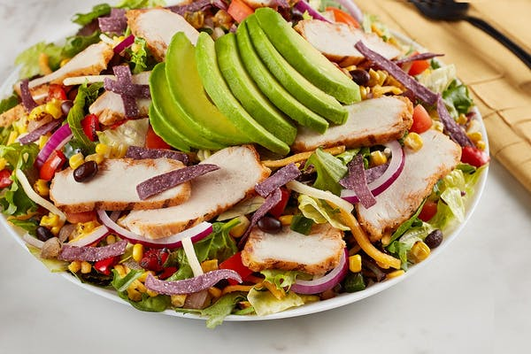 Southwest Chicken & Avocado Salad