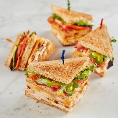 Grilled Chicken Club Sandwich