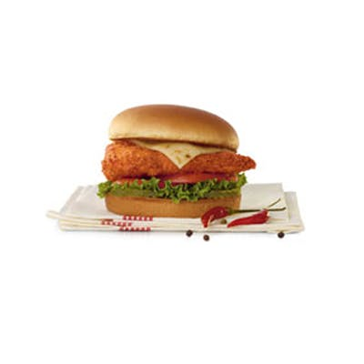#2 Chick-fil-A Spicy Chicken Deluxe Sandwich Entree