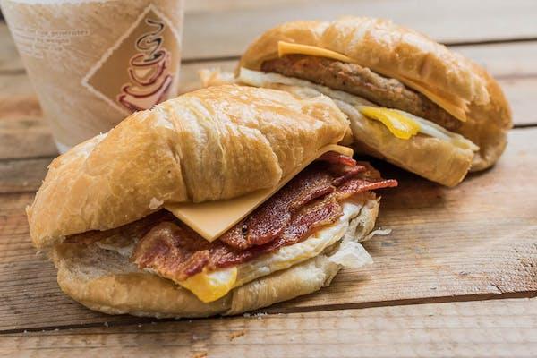 Bacon, Egg & Cheese Croissant