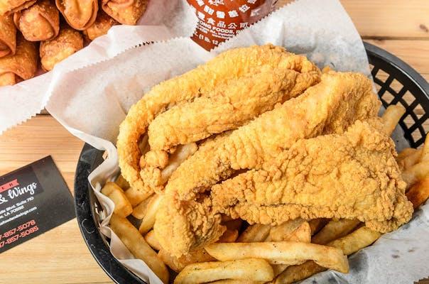Fried Catfish Basket