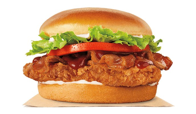 BBQ Bacon Crispy Chicken Sandwich