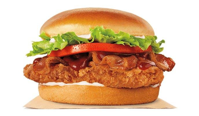 BBQ Bacon Crispy Chicken Sandwich