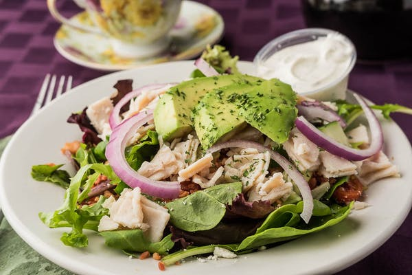 Turkey Avocado Club Salad