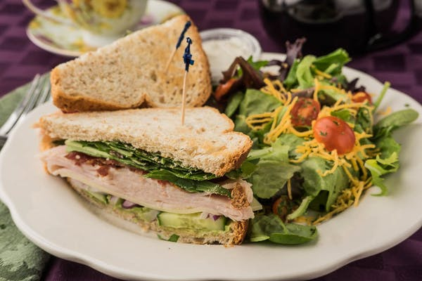 Turkey Avocado Club Sandwich